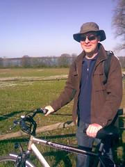 Jim with bike (architectureinberlin.com) Tags: mecklenburgvorpommern mritz waren