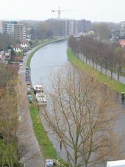 Uitzicht watertoren Leiden kanaal (Watertoren Leiden Prijsvraag Waterproef) Tags: leiden uitzicht watertoren