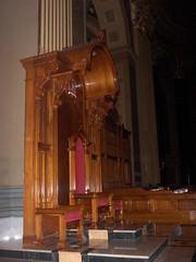 The Cardinals Throne (kerrins_giraffe) Tags: usa philadelphia church religious catholic cathedral centercity interior basilica religion pa philly rc romancatholic phila cathedralbasillicaofsaintspeterandpaul