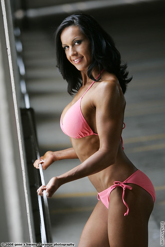 Ali Huston By GeneX at 2008 NPC Jr. Nationals