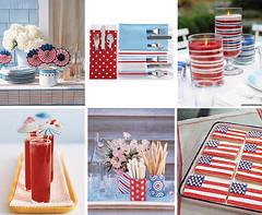 July 4th Party Inspiration (Tastefully Entertaining) Tags: blue red party summer white dessert cocktails centerpiece july4th 4thofjuly decor entertaining tabledecor tastefullyentertaining
