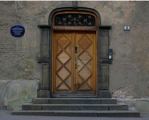 Døren i Waisenhuset