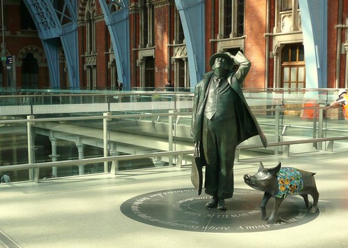 'Pig in Clover' at St Pancras (Not)