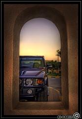 BEHIND THE FRAME (YOUSEF AL-OBAIDLY) Tags: frame hummer  aplusphoto  colourartaward teacheryousef