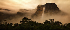 Where the Dark River Rises by Michael Anderson (AndersonImages) Tags: park travel sunset motion water angel clouds digital america sunrise michael waterfall amazon rainforest venezuela south falls hasselblad anderson national waterfalls tropical gran medium format angelfalls canaima wilderness tropics silky highest sabana tepui michaelanderson h2d auyan