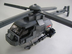 "RAMM ""Silberfalke"" (Battledog) Tags: travel light grey lego military helicopter future falcon moc ramm silberfalke"