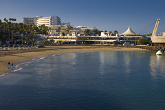 Costa Adeje #3 (michaelgrohe) Tags: ocean vacation costa holiday beach island kanaren canarias atlantic tenerife teneriffa inseln adeje