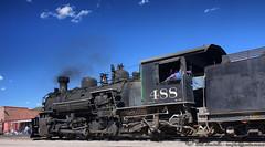 Cumbres#488-3-HDR-1024 (SmoPho) Tags: railroad train steam locomotive hdr narrowgauge cumbresandtoltec smopho dynamicphotohdr