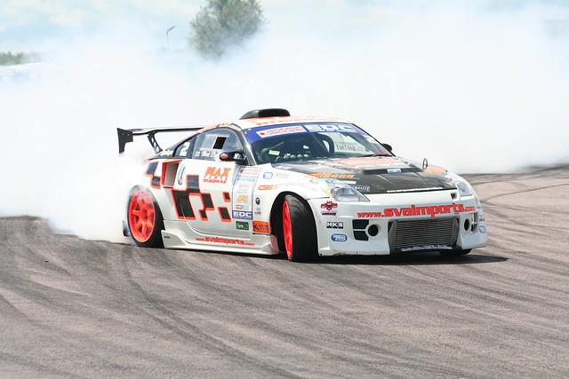 Drifting 350Z