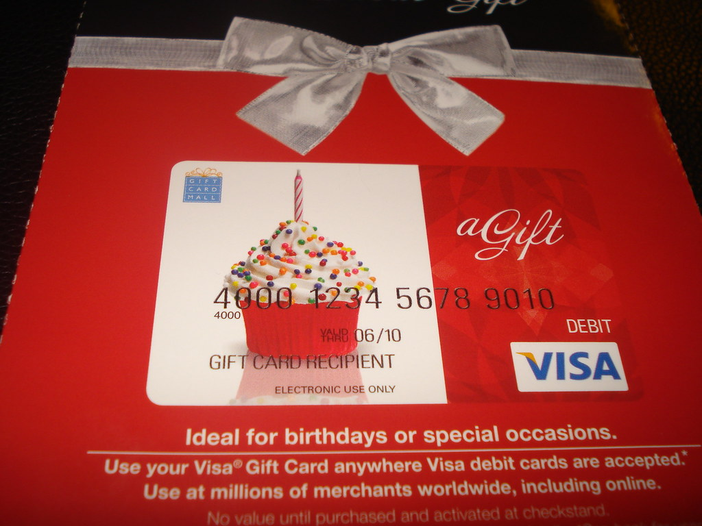 Corporate - Visa Gift Card for Vons Stores July 2008