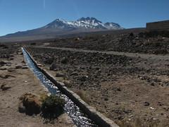 Mountain Water-San Pedro De Atacama-Chile (mikemellinger) Tags: chile mountains nature water scenery tour desert andes daytrip sanpedrodeatacama snowcappedmountains atacamadesert highlagoonsexursion highlagoons