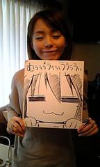 aya_hirano+konata_izumi (winghon83) Tags: smile cat aya izumi hirano 平野 泉 konata 綾 こなた winghon83