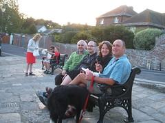 In Wareham (iknitlondon) Tags: bench dorset wareham