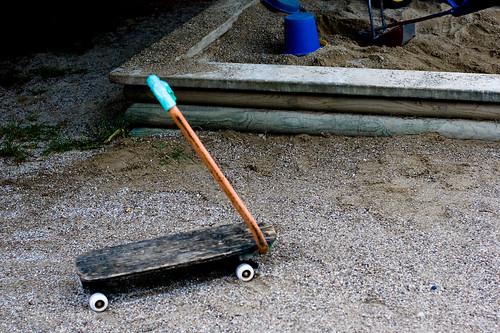 pre-skateboard