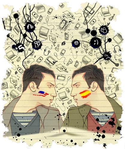"""ilustración para """"El País"""". 2008"""