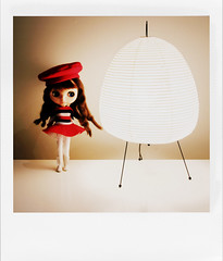 Agathe's new lamp