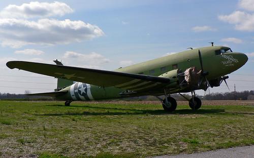 Douglas DC-3A-197 (N18111) Massey Air Museum
