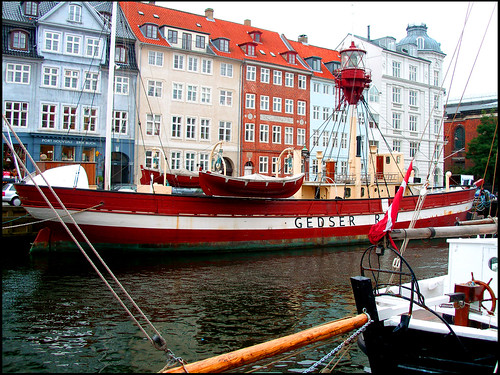Nyhavn - Lighthouse Vessel