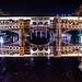 ponte vecchio in florence (italy), night hdr – firenze, italia