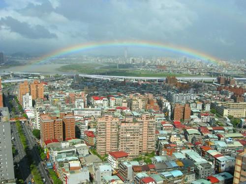 你拍攝的 20080922-彩虹又來了。