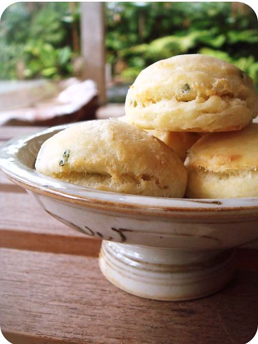 Cream Cheese & Chives Biscuits