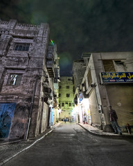 Let Alone Be Me (Khaled A.K) Tags: light man alley long exposure rules ghosts jeddah khaled ksa saudiarbia kashkari