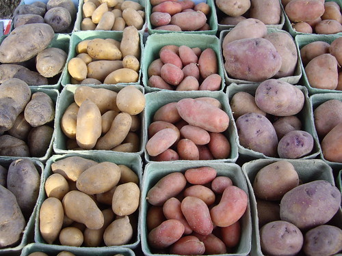 Potatoes from Red Brick Farms