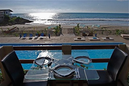 ecuador-beach-condo-dining view