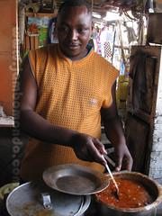 Cocinero del restaurante de Akamba