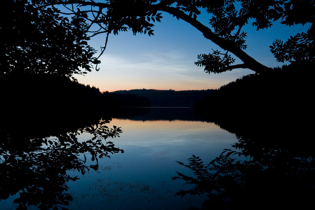Gjersjøen by Night Redux