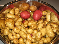 garden fingerling potatoes