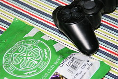 Celtic Sweets and PS3 Controller