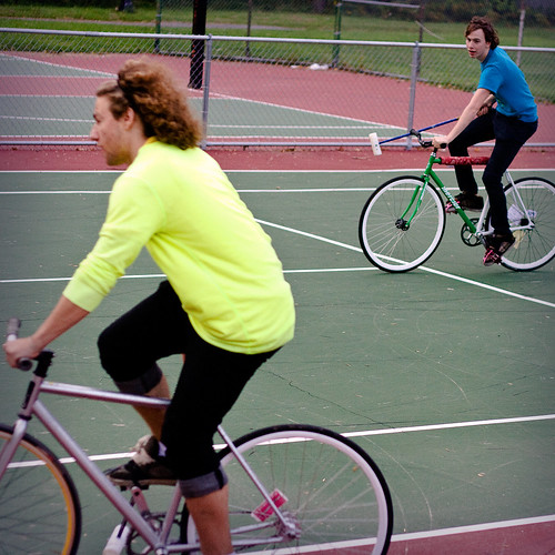 buffalo bike polo.