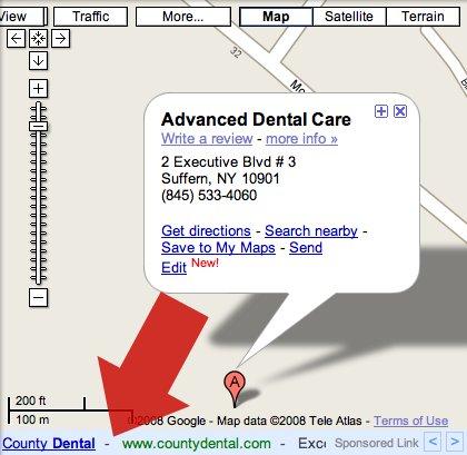 Google Maps AdSense Ads