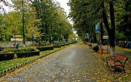 Parcul Cancicov din Bacau @ Toamna 2008