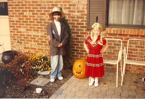 Halloween 1991 - Hobo and an Indian