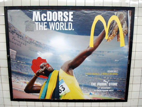 McDorse the World by Poster Boy NYC.