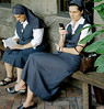 New York City Nuns (J.T.R.) Tags: leica nyc film nuns cloisters forttryonpark minilux blueribbonwinner mywinners anawesomeshot