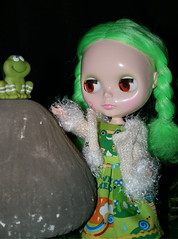 Pistachio is still on her frog prince search