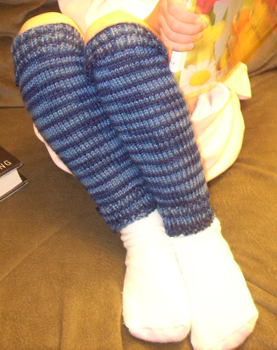 Legwarmers close up