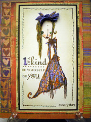 One of a kind (kathyrosecrans) Tags: paper arts hero basicgrey mymessage stampotique cl129 2009catalog
