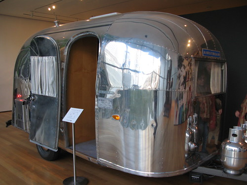 Airstream trailer at the MOMA