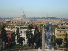One shot, 2 counties but how many churches? (cdfzer) Tags: italy stpeters rome roman egyptian obelisk vaticancity piazzadpopolo obeliskoframesesii