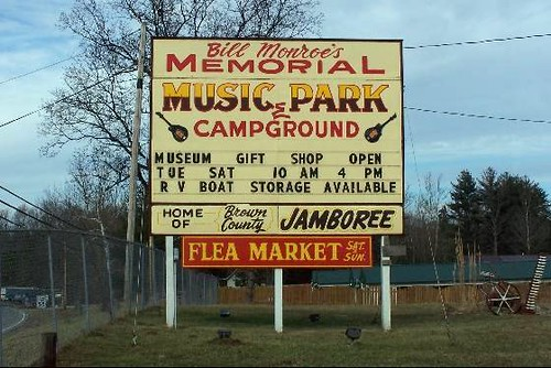 BIll Monroe Memorial Campground