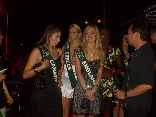 Miss earth candidates arrived