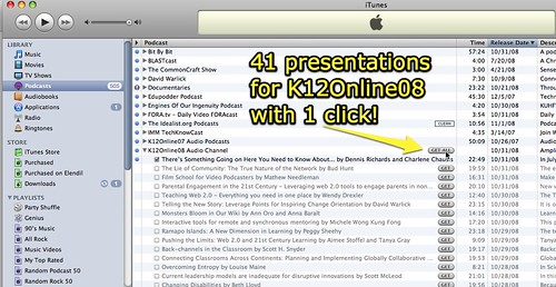41 presentations for K12Online08 with 1 click!