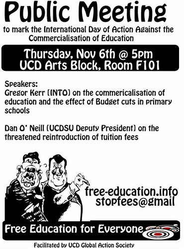 ucd free education for everyone public meeting