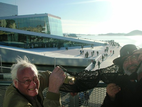 Olga at Oslo New Opera House #3