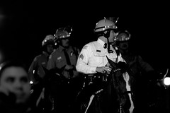 (Brian Hagy) Tags: horses chicago election cops rally police il cop grantpark law enforcement obama e08 e08grantpark e08cops
