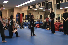 David's board breaking routine (Paul D Hayes) Tags: sidekick tournament chop hapkido boardbreaking axekick